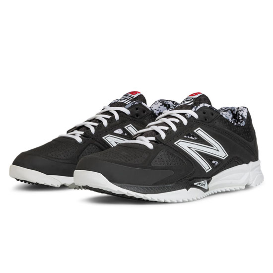 MEN'S New Balance Turf 4040v2 Black with White