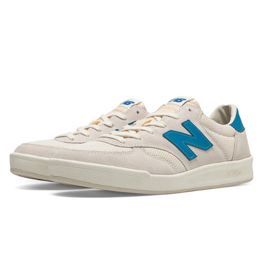 MEN'S New Balance CRT300 White with Blue Atoll