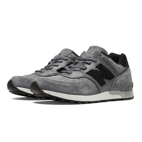 MEN'S New Balance Made in UK 576 Grey with Black