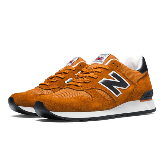 MEN'S New Balance Made in UK Camping 670 Rust with Black