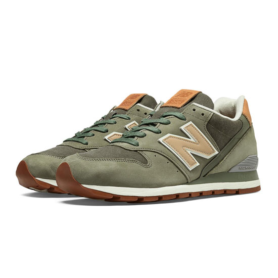 MEN'S New Balance Distinct Weekend 996 Dusty Olive with Tan