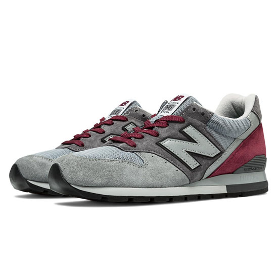 MEN'S New Balance Connoisseur Painters 996 Grey with Black & Oxford
