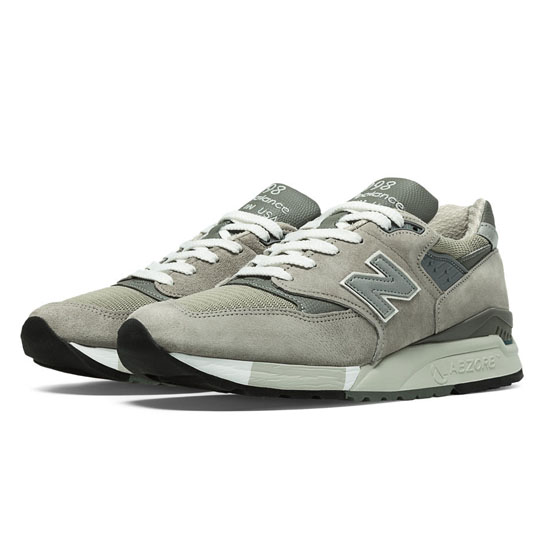 MEN'S New Balance Made in the USA Bringback 998 Light Grey with Grey