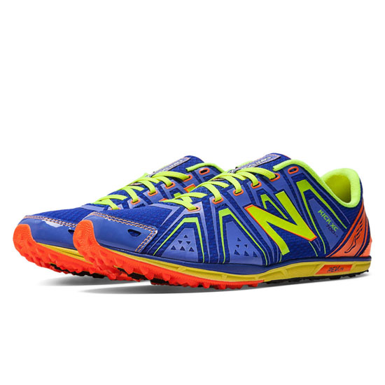 MEN'S New Balance XC700v3 Spikeless Blue with Yellow