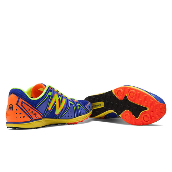 MEN\'S New Balance XC700v3 Spikeless Blue with Yellow