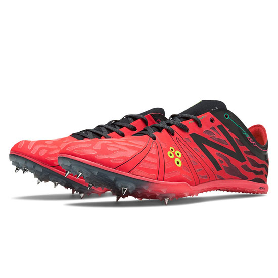 MEN'S New Balance MD800v3 Spike Bright Cherry with Orca