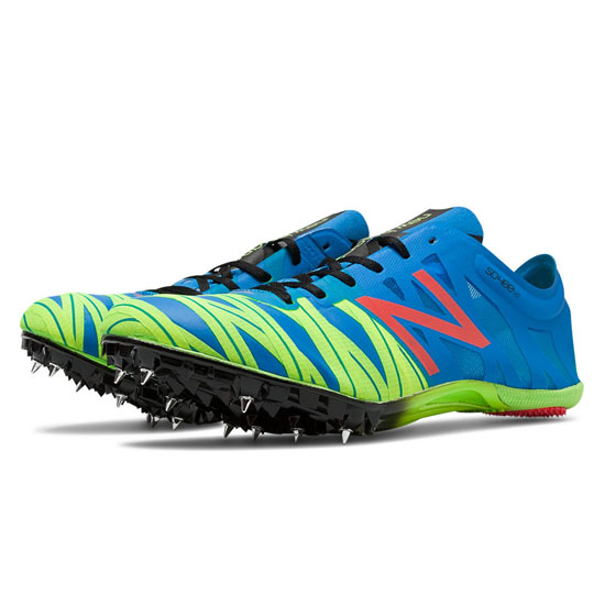 MEN'S New Balance SD400v2 Spike Electric Blue with Hi-Lite