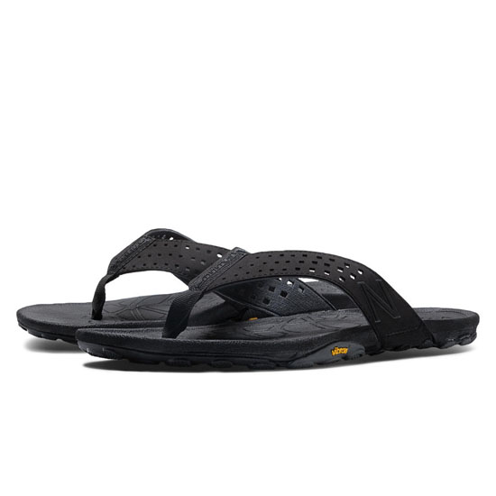 MEN'S New Balance Minimus Vibram Thong Black