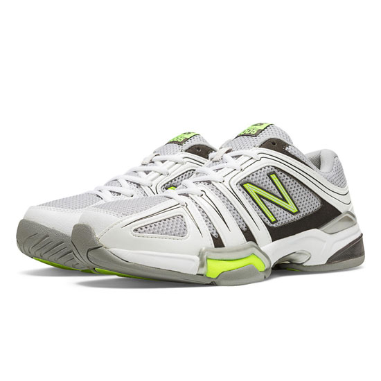 MEN'S New Balance 1005 White with Grey & Neon Yellow