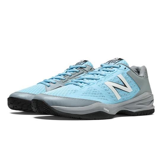 MEN'S New Balance 896 Light Grey with Blue Grotto