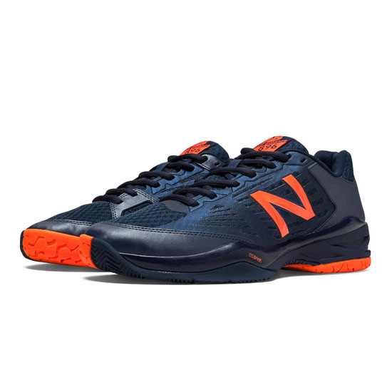 MEN'S New Balance 896 Navy with Orange