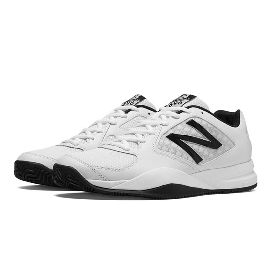 MEN'S New Balance 696v2 White with Black
