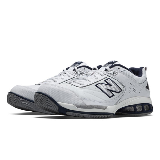 MEN'S New Balance 806 White with Navy