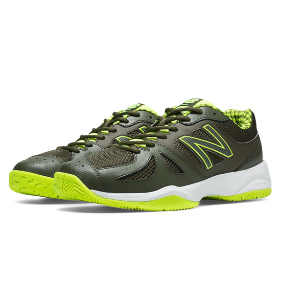 MEN'S New Balance 696 Yellow with Combat