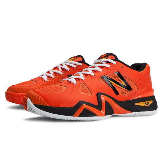 MEN'S New Balance 1296 Orange with Black