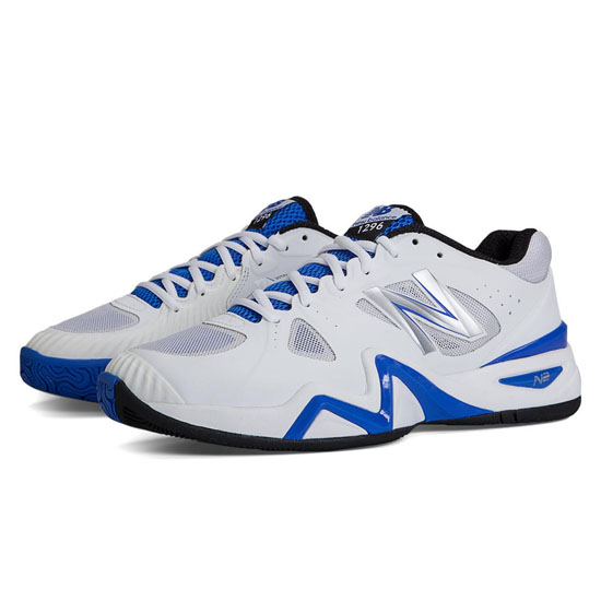 MEN'S New Balance 1296 White with Blue