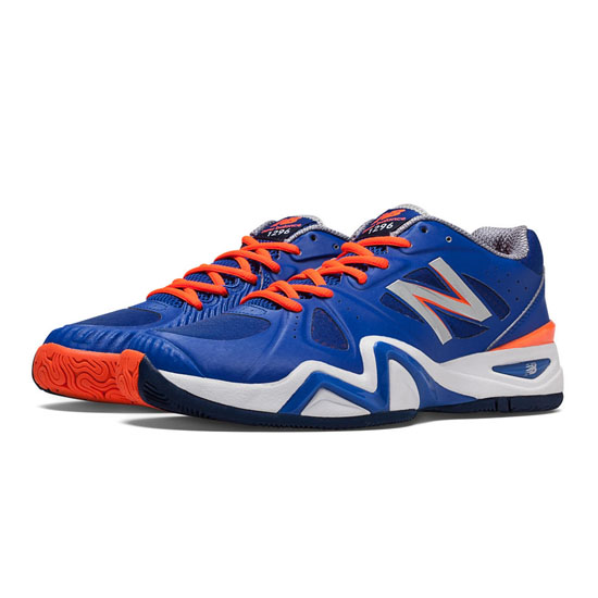 MEN'S New Balance 1296 Blue with Orange