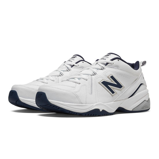 MEN'S New Balance 608v4 White with Navy