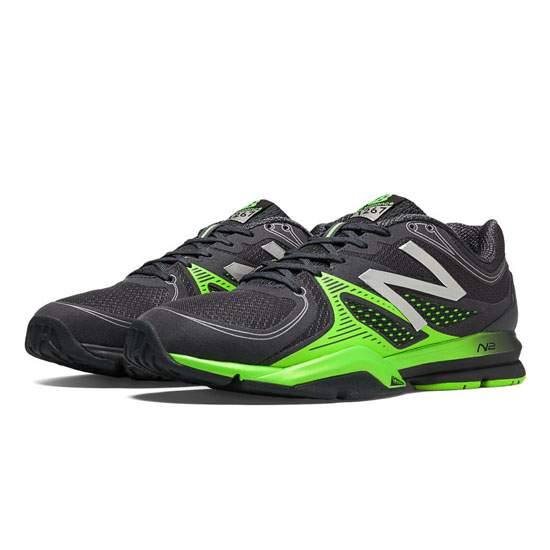 MEN'S New Balance 1267 Black with Acidic Green