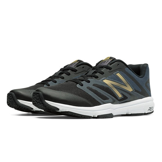 MEN'S New Balance 797v4 Black with Gold