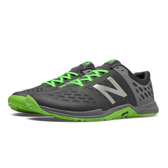 MEN'S New Balance Minimus 20v4 Cross-Trainer Steel with Orca & Chemical Green