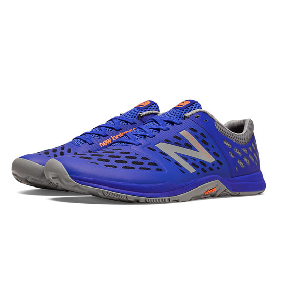 MEN'S New Balance Minimus 20v4 Cross-Trainer Optic Blue with Steel Grey