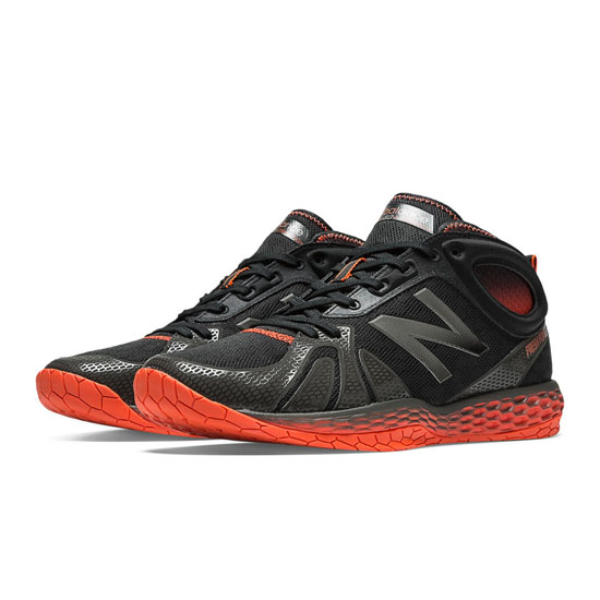 MEN'S New Balance Fresh Foam 80 Black with Red