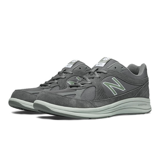 MEN'S New Balance 877 Grey with Light Grey