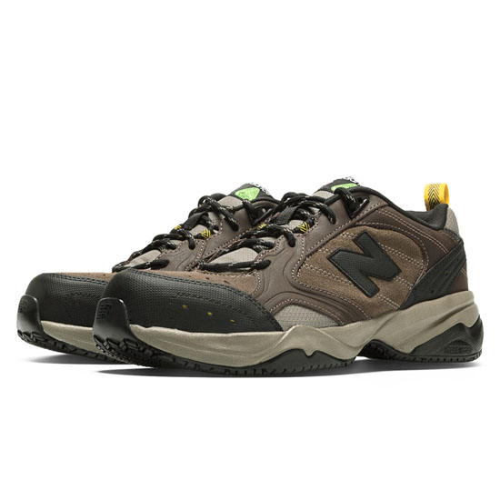MEN'S New Balance Steel Toe 627 Brown