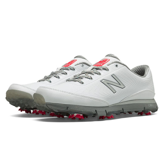 WOMEN'S New Balance Golf 1004 White with Silver