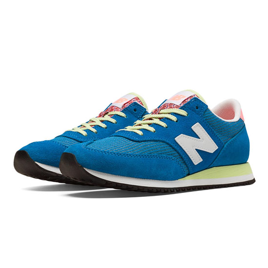 WOMEN'S New Balance 620 Electric Blue with White & Pink