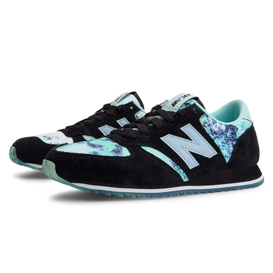 WOMEN'S New Balance HKNB 420 Black with White Mint & White