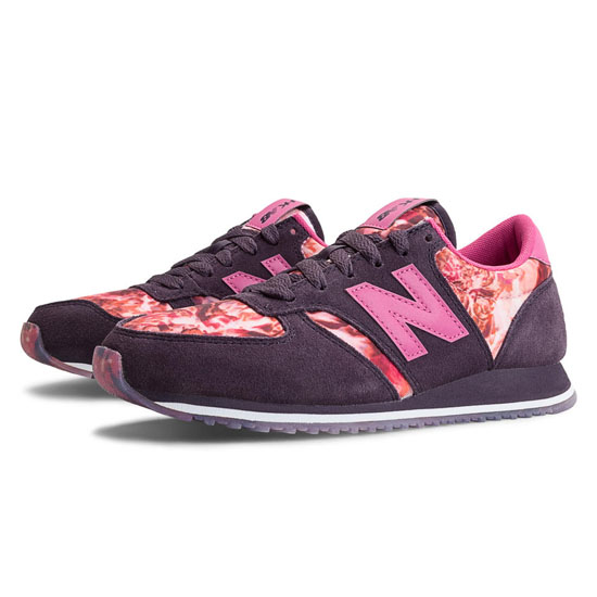 WOMEN'S New Balance HKNB 420 Elderberry with Exuberant Pink