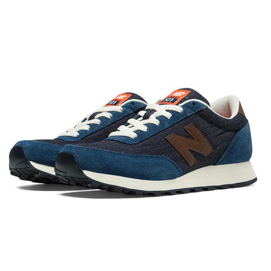 WOMEN'S New Balance Vintage Indigo 501 Ink Blue with Blue Smoke