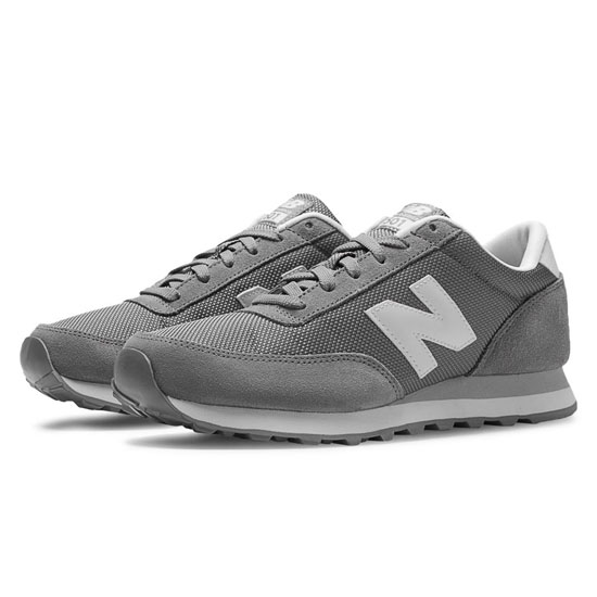 WOMEN'S New Balance Ballistic 501 Grey with White