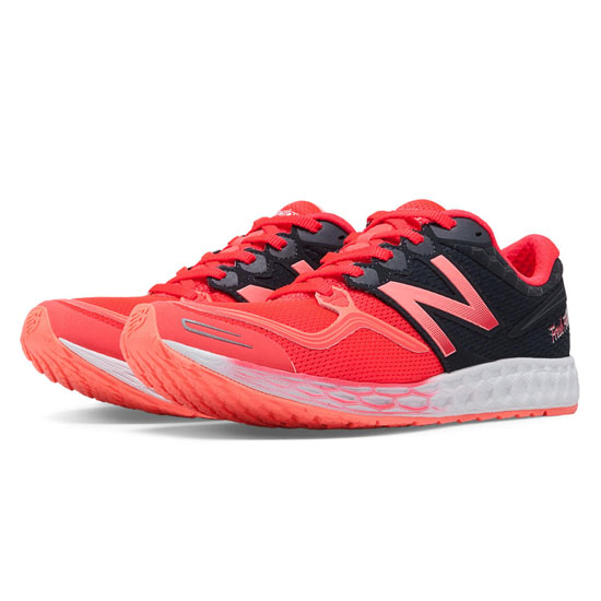 WOMEN'S New Balance Fresh Foam Zante Coral Pink with Black