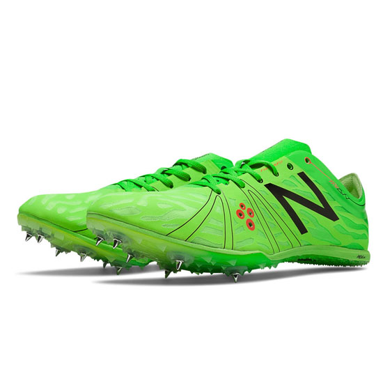 WOMEN'S New Balance MD800v3 Spike Acidic Green with Black