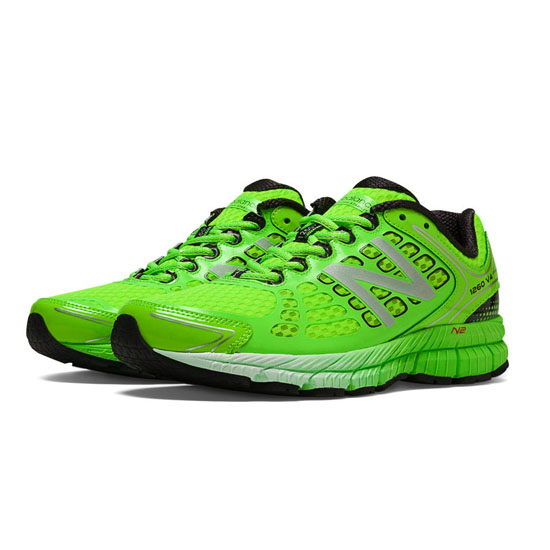 WOMEN'S New Balance 1260v4 Chemical Green with Black
