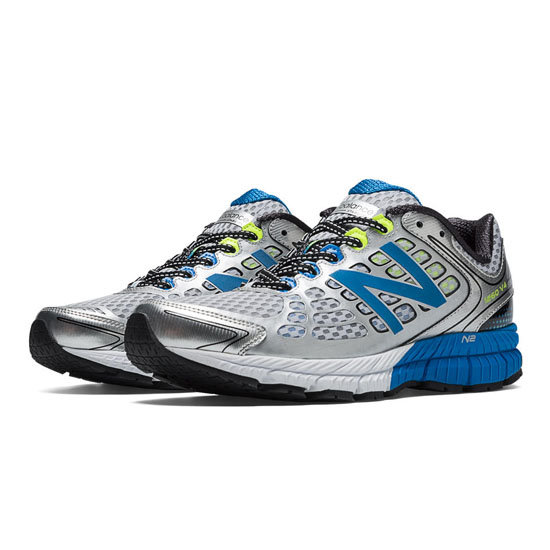 WOMEN'S New Balance 1260v4 Silver with Bright Blue & Lime