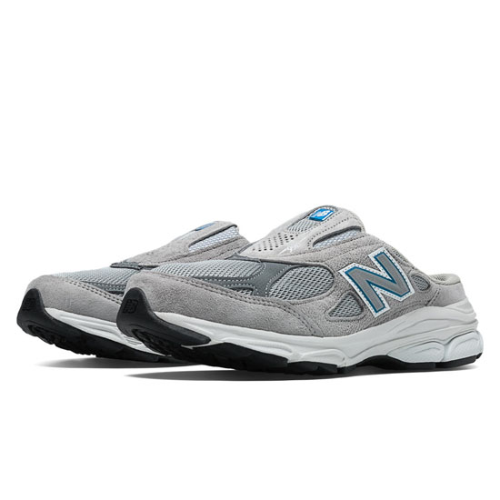 WOMEN'S New Balance 990v3 Grey with White