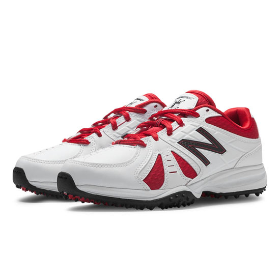 WOMEN'S New Balance 706 White with Red