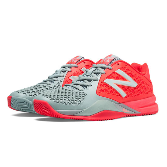 WOMEN'S New Balance 996v2 Coral Pink with Grey