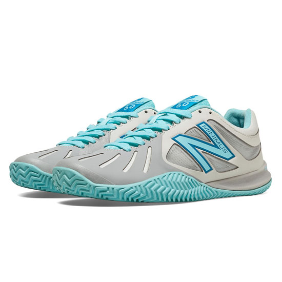 WOMEN'S New Balance 60 Silver with Angel Blue
