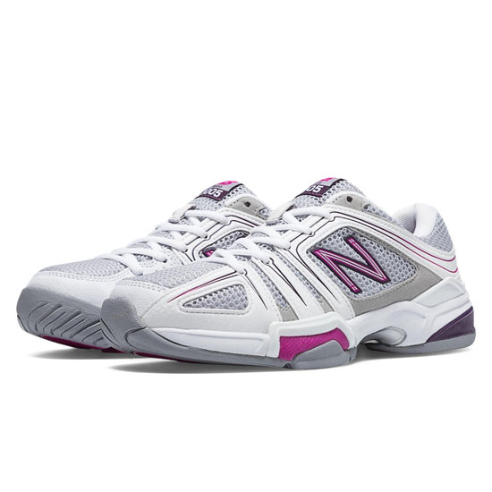 WOMEN'S New Balance 1005 Grey with Voltage Violet