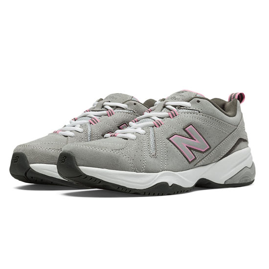 WOMEN'S New Balance 608v4 Grey with Pink