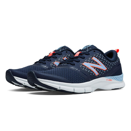 WOMEN'S New Balance 711 Mesh Navy with Dragonfly