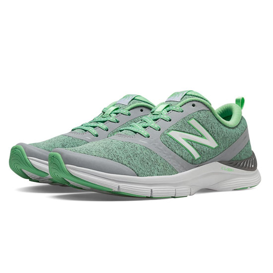 WOMEN'S New Balance 711 Heathered Pistachio with Light Grey