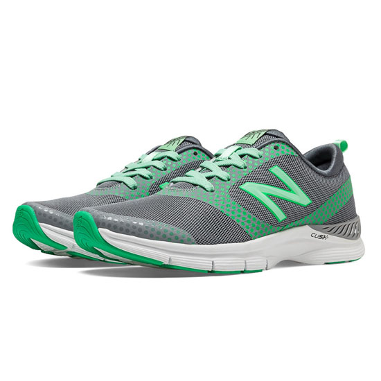 WOMEN'S New Balance 711 Print Silver with Green Oasis & Lime Sherbert