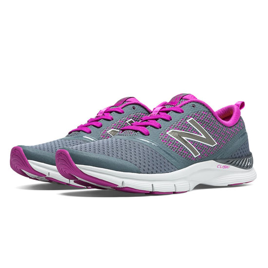 WOMEN'S New Balance 711 Mesh Grey with Voltage Violet
