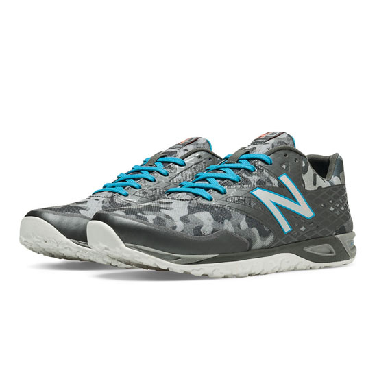 WOMEN'S New Balance Limited Edition Harley Pasternak Zero Charcoal with Grey & Blue Atoll
